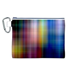 Colorful Abstract Background Canvas Cosmetic Bag (L)