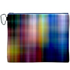 Colorful Abstract Background Canvas Cosmetic Bag (XXXL)