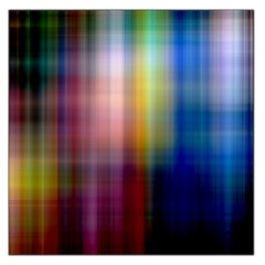 Colorful Abstract Background Large Satin Scarf (Square)