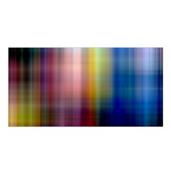 Colorful Abstract Background Satin Shawl