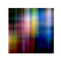 Colorful Abstract Background Small Satin Scarf (square)