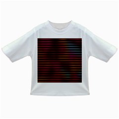Colorful Venetian Blinds Effect Infant/toddler T Shirts