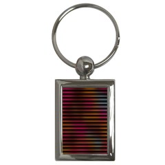 Colorful Venetian Blinds Effect Key Chains (rectangle)