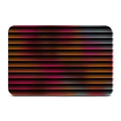 Colorful Venetian Blinds Effect Plate Mats