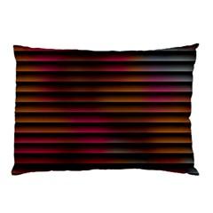 Colorful Venetian Blinds Effect Pillow Case