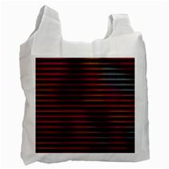 Colorful Venetian Blinds Effect Recycle Bag (one Side)