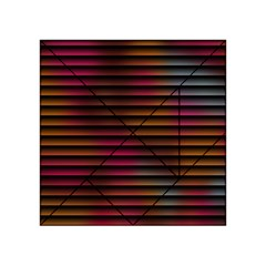 Colorful Venetian Blinds Effect Acrylic Tangram Puzzle (4  x 4 )