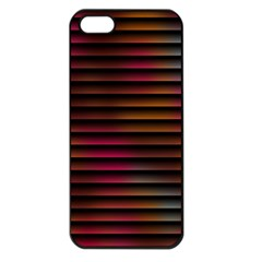 Colorful Venetian Blinds Effect Apple iPhone 5 Seamless Case (Black)