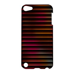 Colorful Venetian Blinds Effect Apple Ipod Touch 5 Hardshell Case