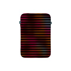 Colorful Venetian Blinds Effect Apple iPad Mini Protective Soft Cases