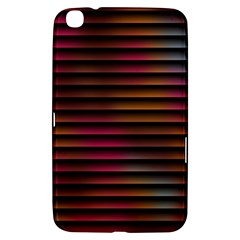 Colorful Venetian Blinds Effect Samsung Galaxy Tab 3 (8 ) T3100 Hardshell Case