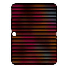 Colorful Venetian Blinds Effect Samsung Galaxy Tab 3 (10.1 ) P5200 Hardshell Case
