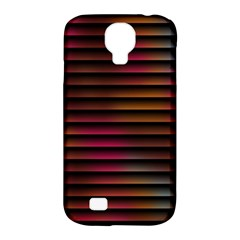 Colorful Venetian Blinds Effect Samsung Galaxy S4 Classic Hardshell Case (PC+Silicone)