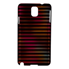 Colorful Venetian Blinds Effect Samsung Galaxy Note 3 N9005 Hardshell Case