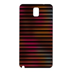 Colorful Venetian Blinds Effect Samsung Galaxy Note 3 N9005 Hardshell Back Case