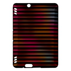 Colorful Venetian Blinds Effect Kindle Fire HDX Hardshell Case