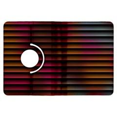 Colorful Venetian Blinds Effect Kindle Fire Hdx Flip 360 Case