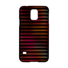 Colorful Venetian Blinds Effect Samsung Galaxy S5 Hardshell Case
