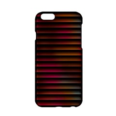 Colorful Venetian Blinds Effect Apple iPhone 6/6S Hardshell Case