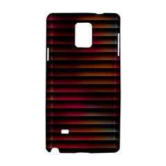 Colorful Venetian Blinds Effect Samsung Galaxy Note 4 Hardshell Case