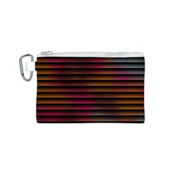 Colorful Venetian Blinds Effect Canvas Cosmetic Bag (s)