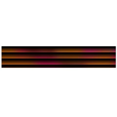 Colorful Venetian Blinds Effect Flano Scarf (Large)
