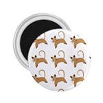 Cute Cats Seamless Wallpaper Background Pattern 2.25  Magnets Front