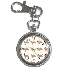 Cute Cats Seamless Wallpaper Background Pattern Key Chain Watches
