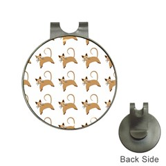 Cute Cats Seamless Wallpaper Background Pattern Hat Clips with Golf Markers