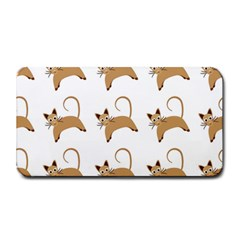 Cute Cats Seamless Wallpaper Background Pattern Medium Bar Mats