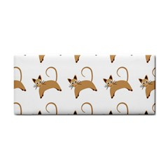 Cute Cats Seamless Wallpaper Background Pattern Cosmetic Storage Cases