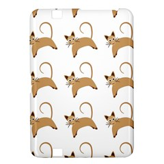 Cute Cats Seamless Wallpaper Background Pattern Kindle Fire Hd 8 9