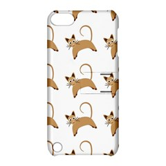Cute Cats Seamless Wallpaper Background Pattern Apple Ipod Touch 5 Hardshell Case With Stand