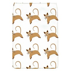 Cute Cats Seamless Wallpaper Background Pattern Flap Covers (S)