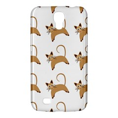 Cute Cats Seamless Wallpaper Background Pattern Samsung Galaxy Mega 6.3  I9200 Hardshell Case