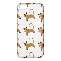 Cute Cats Seamless Wallpaper Background Pattern Apple iPhone 5C Hardshell Case