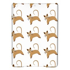 Cute Cats Seamless Wallpaper Background Pattern Ipad Air Hardshell Cases