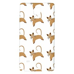 Cute Cats Seamless Wallpaper Background Pattern Galaxy Note 4 Back Case