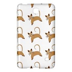 Cute Cats Seamless Wallpaper Background Pattern Samsung Galaxy Tab 4 (8 ) Hardshell Case