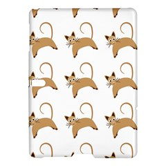 Cute Cats Seamless Wallpaper Background Pattern Samsung Galaxy Tab S (10.5 ) Hardshell Case