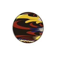 Peacock Abstract Fractal Hat Clip Ball Marker (10 Pack)