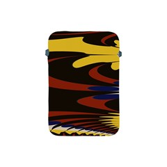 Peacock Abstract Fractal Apple iPad Mini Protective Soft Cases