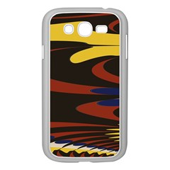 Peacock Abstract Fractal Samsung Galaxy Grand Duos I9082 Case (white)
