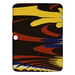 Peacock Abstract Fractal Samsung Galaxy Tab 3 (10.1 ) P5200 Hardshell Case
