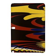 Peacock Abstract Fractal Samsung Galaxy Tab Pro 10.1 Hardshell Case