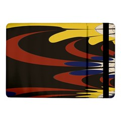 Peacock Abstract Fractal Samsung Galaxy Tab Pro 10 1  Flip Case