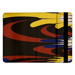 Peacock Abstract Fractal Samsung Galaxy Tab Pro 12.2  Flip Case