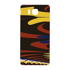 Peacock Abstract Fractal Samsung Galaxy Alpha Hardshell Back Case