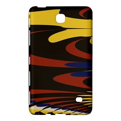Peacock Abstract Fractal Samsung Galaxy Tab 4 (8 ) Hardshell Case