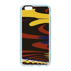 Peacock Abstract Fractal Apple Seamless iPhone 6/6S Case (Color)